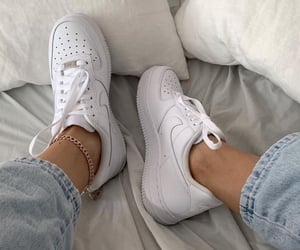 baskets, airforce, and sneakers image
