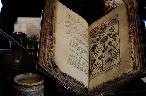 book, old, and witch image