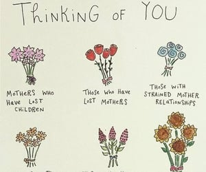 flowers, mother, and quotes image