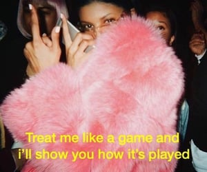 quotes, pink, and game image
