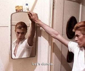 david bowie, dance, and bowie image