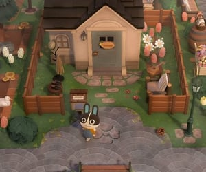 cottage, animalcrossing, and acnl image