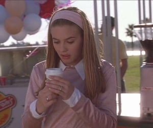 alicia silverstone, Clueless, and pink image