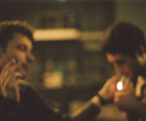 boy, cigarette, and photography image