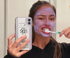 girl, aesthetic, and skincare image