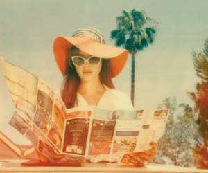 honeymoon, lana del rey, and vintage image