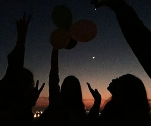 aesthetic, alternative, and balloons image