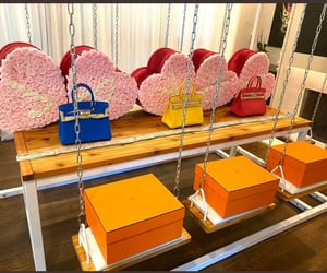 bags, boxes, and colourful image
