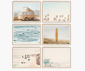 etsy, surf, and travel prints image