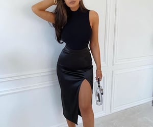 body, classy, and dress image