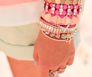 bracelets, fashion, and studs image