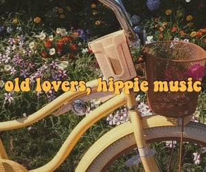 aesthetic, header, and hippie image