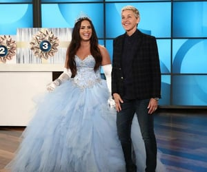 dress, princess, and demi lovato image