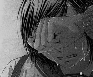 cry, sad, and pain image