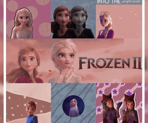 aesthetic, disney, and frozen 2 image