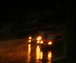 cars, Noche, and carros image