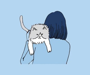 cat, header, and art image