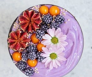 food, smoothiebowl, and healthy image