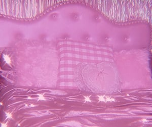 aesthetic, bedrooms, and pink image