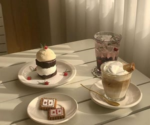 aesthetic, beige, and dessert image