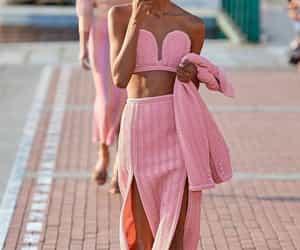 pink, streetfashion, and fashion image