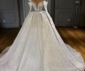 bride, fashion, and glamour image