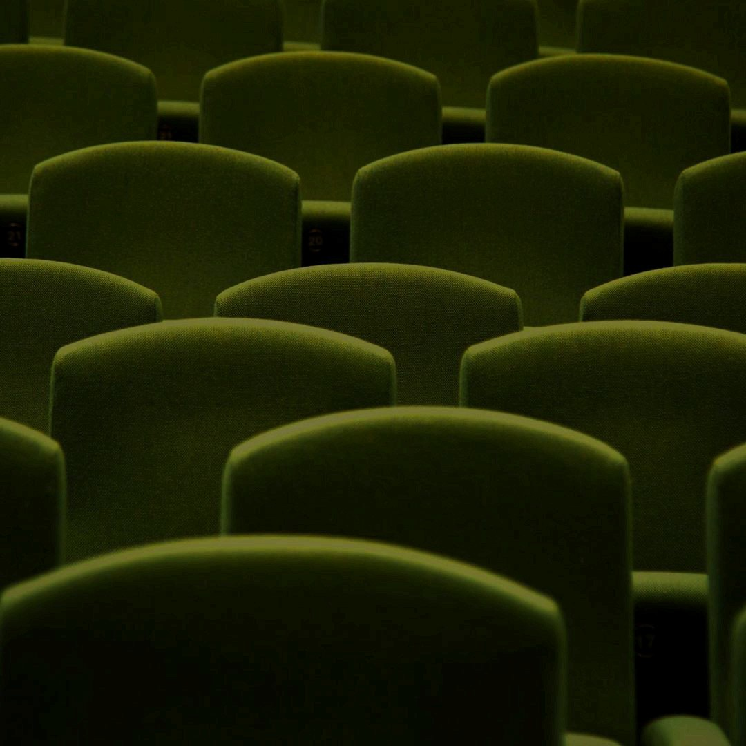 cinema, green, and sit image