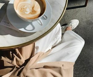 coffee, outfit, and aesthetic image