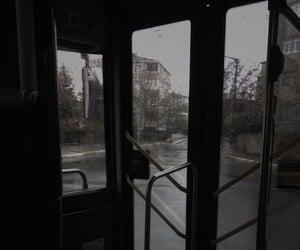 aesthetic, dark, and rain image