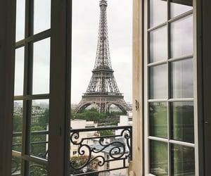 eiffel, france, and gloomy image