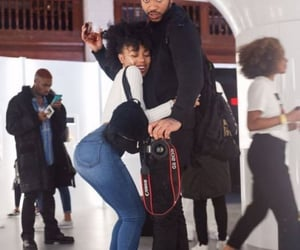 black women, boy girl, and hugging image