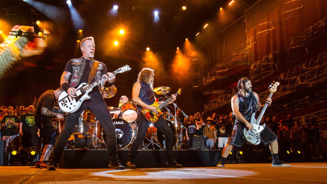 album, article, and James Hetfield image