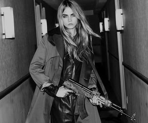 gun and cara delevingne image