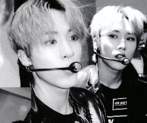 black and white, boyfriend, and eric image