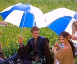 Anakin Skywalker, attack of the clones, and cast image