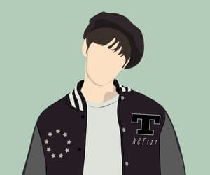 illustration, kpop, and doyoung image