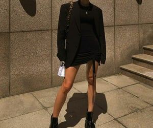 fashion, style, and black outfit image