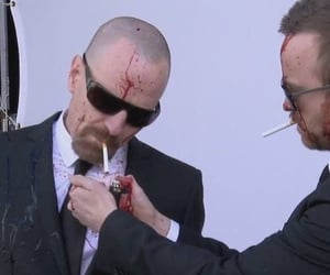 breaking bad, walter white, and cigarette image