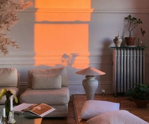 golden hour, aesthetic, and living room image