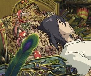 anime, howl's moving castle, and Hayao Miyazaki image