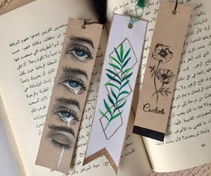 arabic, bookmarks, and doodle image