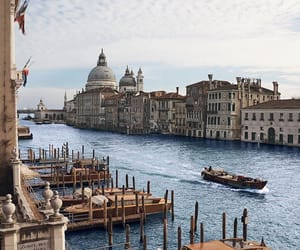 italy, town, and venice image