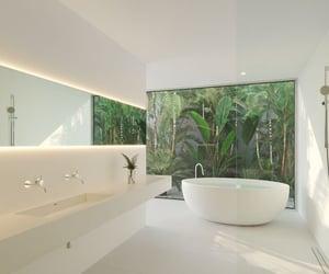 aesthetics, bathroom, and interior image