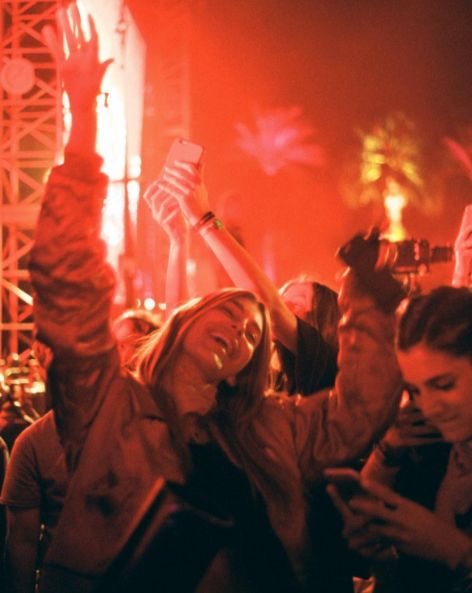 kendall jenner and party image