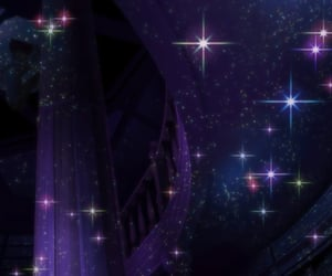 anime, books, and dark image