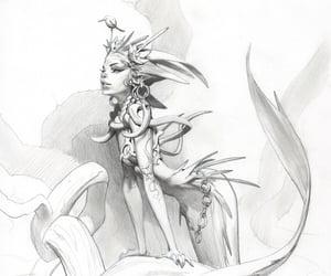 creature, viktor-titov, and sketch image