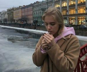 girl, cigarette, and alternative image
