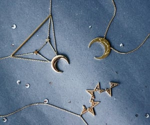 moon, stars, and aesthetic image