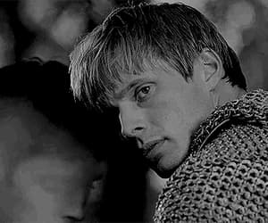 bradley james, gif, and merlin image