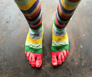 colors, skin, and feet image